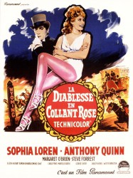 La diablesse en collants roses