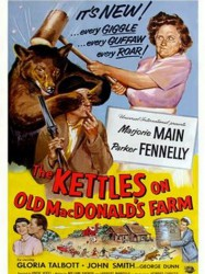 Ma and Pa Kettle in The Kettles on Old MacDonald's Farm
